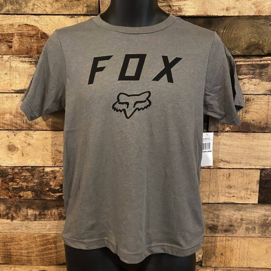 Fox Youth Legacy Moth T-Shirt Grey