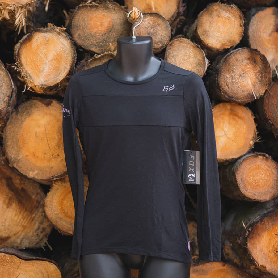 Fox Ranger Long Sleeve Top  Ladies Black